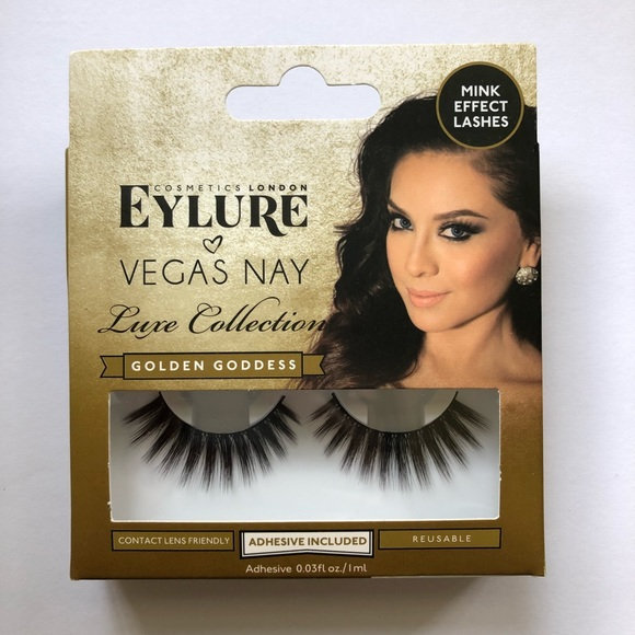 Eylure Makeup Vegas Nay Golden Goddess Lashes Poshmark